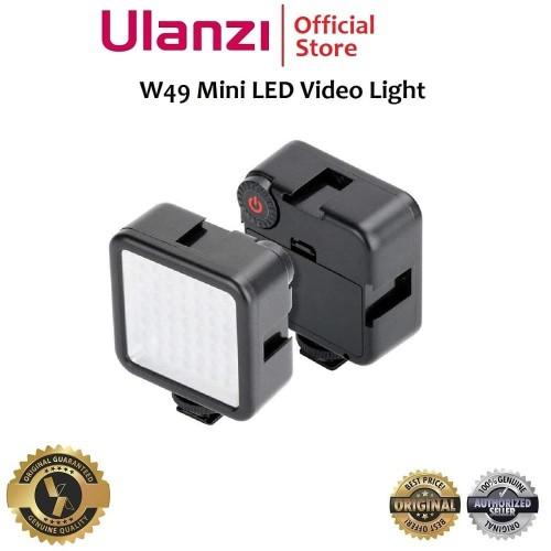 Foto Produk Ulanzi W49 W 49 Lampu LED Mini Video Light for Camera Smartphone HP dari Ulanzi Official Store