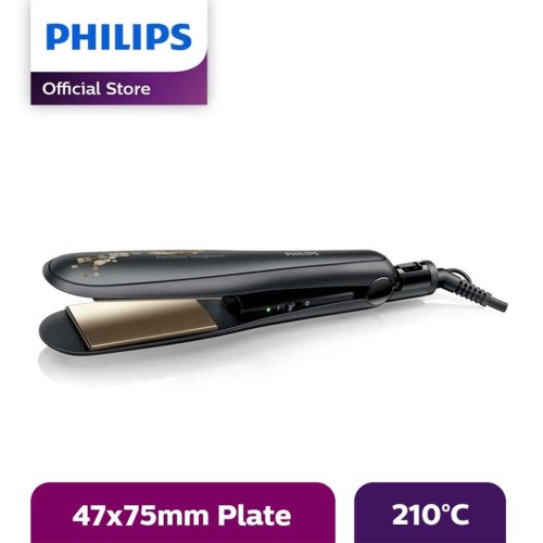 Foto Produk Philips Kerashine Straightener Ceramic Keratin - Hitam - HP8316/00 dari Philips e-Store