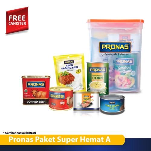 Foto Produk PRONAS PAKET SUPER HEMAT bundling 6 pcs berhadiah Canister Cantik dari Pronas Official Store