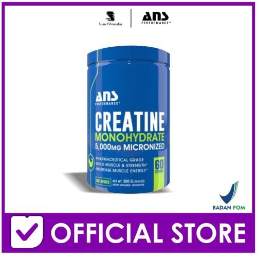 Foto Produk ANS Creatine 300 Gram Creatine Monohydrate Platinum dari Susu fitnessku