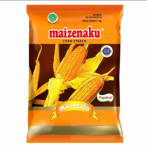 Foto Produk Tepung Maizena Corn Starch MAIZENAKU 1 kilo / 1kg / 1 Kg dari barangmurahdonk