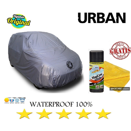 Foto Produk Cover Mobil Urban Sarung EXPANDER WULING CONFERO DREZA CHR Nissan Leaf - SILVER dari GrosirOtomotif