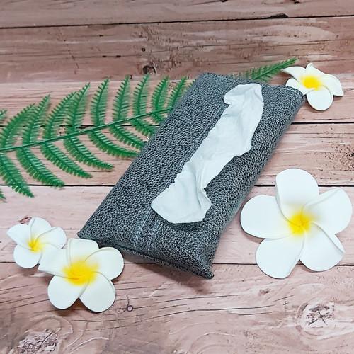 Foto Produk TECHNOZIO Tissue Bag/Tissue Organizer/Tempat Tissue Motif Pari Abu dari Technozio