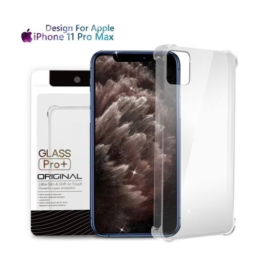 Foto Produk Premium Soft Case iPhone 11 Pro Max Clear - Anti Crack Glass Pro dari Glass Pro Indonesia