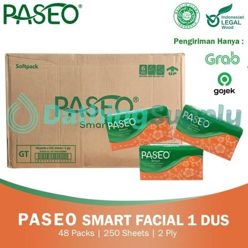 Foto Produk (KHUSUS GOJEK/GRAB) Tissue Paseo Smart Facial 250 - 1 DUS 48 PACK dari Dathing Supply