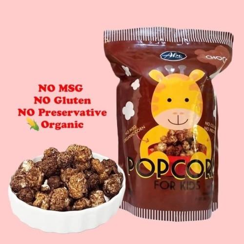 Foto Produk Abe Food Popcorn for Kids 80gr - choco dari Yen's Baby & Kid Official Shop