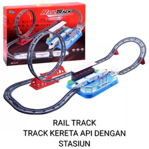 Foto Produk Rail Track Kereta Api Mrt - Track Kereta Api Halilintar dari Putra-Minang