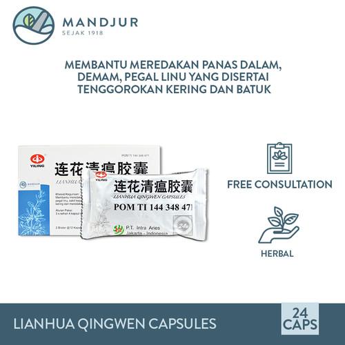 Foto Produk Lianhua Qingwen Capsules - Obat Flu, Demam, Panas Dalam, Sakit Kepala dari mandjur