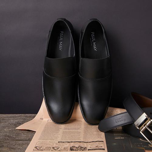 Foto Produk PAULMAY Sepatu Formal Pria Madrid 92 - Hitam, 39 dari Paulmay