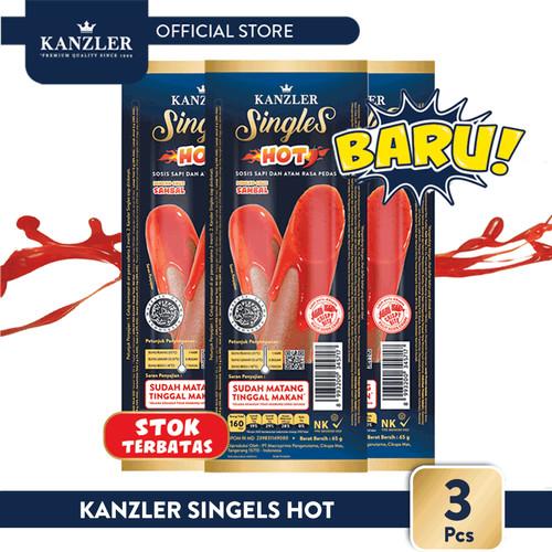Foto Produk 1 Bundle - Triple Kanzler Singles Hot dari Kanzler Official Store