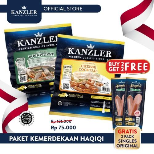 Foto Produk Kanzler Paket Kemerdekaan Haqiqi dari Kanzler Official Store