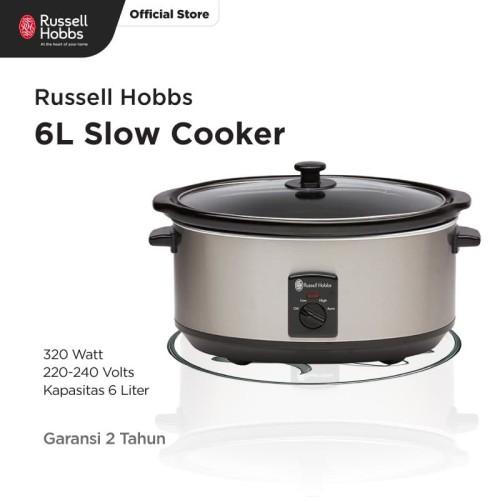 Foto Produk Russell Hobbs 6L Slow Cooker dari Russell Hobbs Indonesia