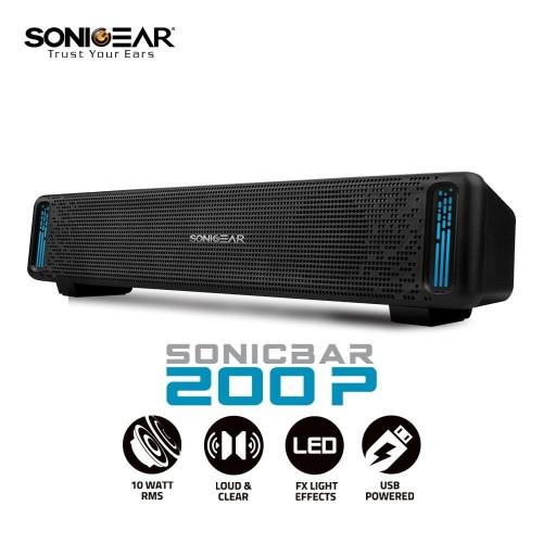 Foto Produk Speaker Sonic Gear U200P SonicBar SonicGear U 200 P dari PojokITcom Pusat IT Comp