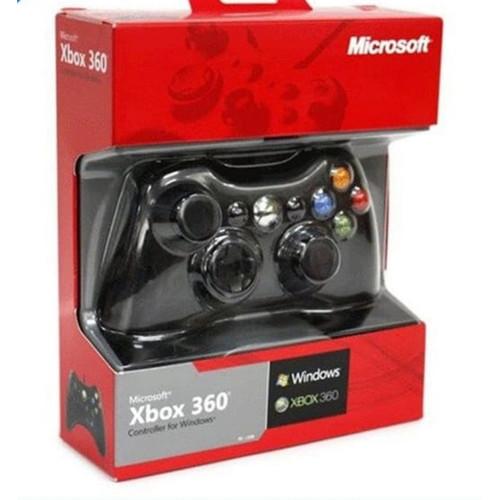 Foto Produk STIK STICK XBOX 360 SLIM WIRED KABEL - Hitam dari JS GAME