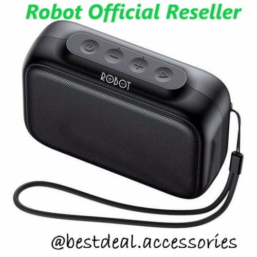 Foto Produk Robot RB100 Bluetooth Speaker 5.0 Dots (spt JBL Go / Anker Soundcore) dari bestdeal official