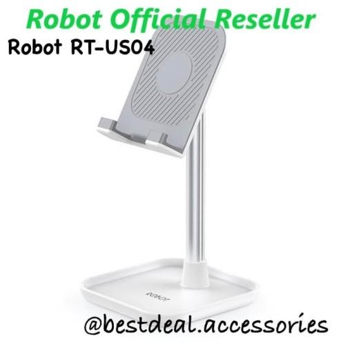 Foto Produk Robot RT-US04 Liftable & Foldable Alluminium Alloy Universal Holderr - Putih dari bestdeal official