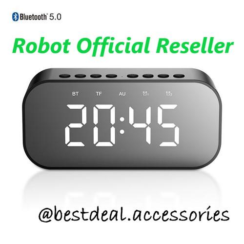Foto Produk Robot RB550 Bluetooth Speaker 5.0 with LED Display & Alarm Clock dari Bestdeal Accessories