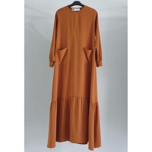Foto Produk DBandanaira - Nadira Dress Muslim - Navy, L dari DBandanaira_Official