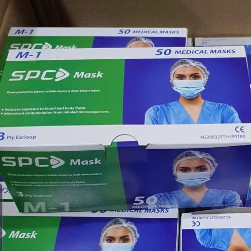 Foto Produk Masker Medis 3ply 50pcs SPC /kemenkes dari Cozy Shop