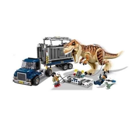 Foto Produk 69003 Lego Jurassic World T. rex Transport Dinosaurus dari Wil Toys
