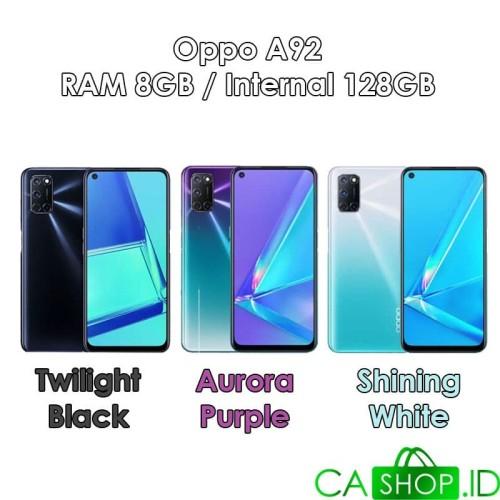 Foto Produk Oppo A92 - 8GB 128GB (8/128) - New Original Garansi Resmi - Black dari CA Shop