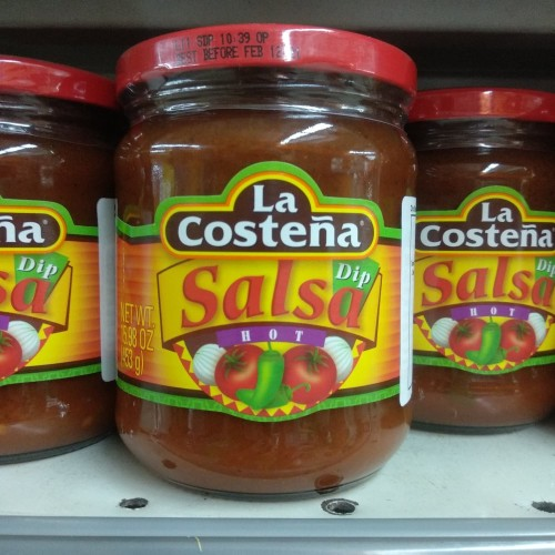 Foto Produk La Costena Dip Salsa Hot 453g dari cubeecubee
