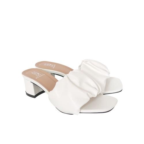 Foto Produk Sandal Heels Wanita - Polla Polly - Lilac White - 37 dari Polla Polly