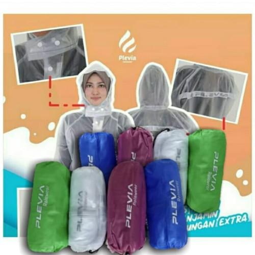 Foto Produk Jas hujan transparan|jas hujan dewasa kekinian|original dari Toekang Kaos Kaki