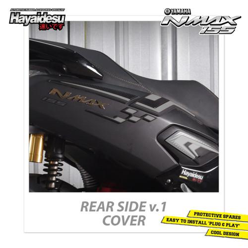 Foto Produk Hayaidesu NMAX Body Protector Rear Side Cover Versi 1 - Abu-abu dari Hayaidesu Indonesia