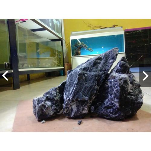 Foto Produk batu kreket batu aquascape iwagumi natural brazilian style dari aquascape azmy azalia