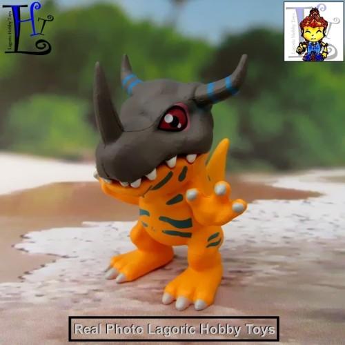 Foto Produk Digimon DigiColle Single GreyMon Figure dari Lagoric Hobby Toys