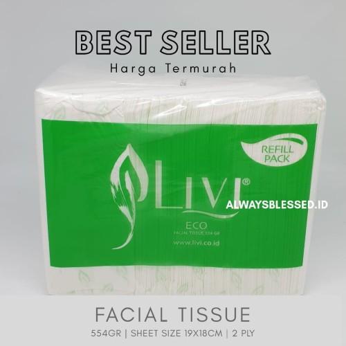 Foto Produk Livi Eco Facial 600 Sheets dari AlwaysBlessed.ID