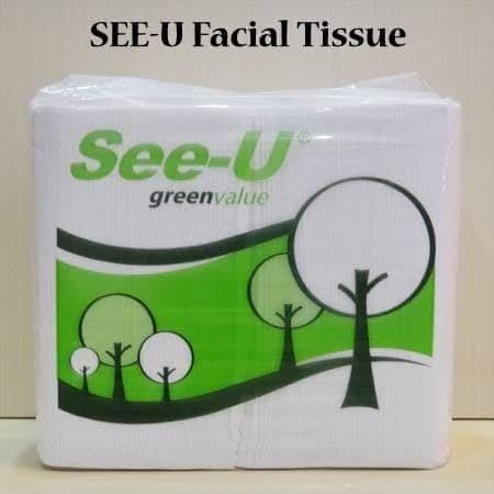 Foto Produk See-U Facial Tissue - Green Value dari Victoria Kitchen