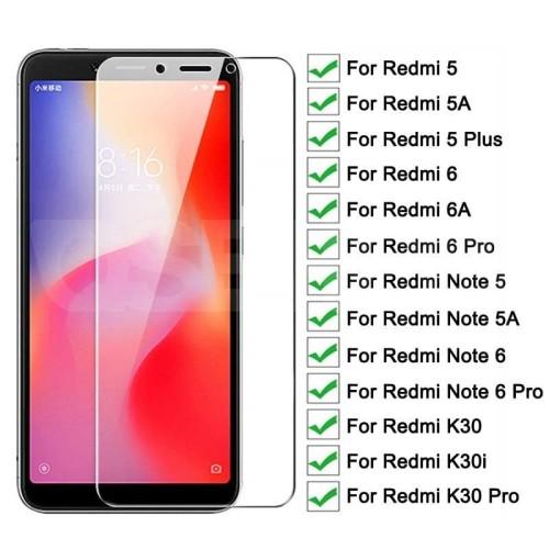 Foto Produk Tempered Glass Xiaomi Redmi 6 6A 5 5A 5 PLUS Note 5A Screenguard Clear dari Case world