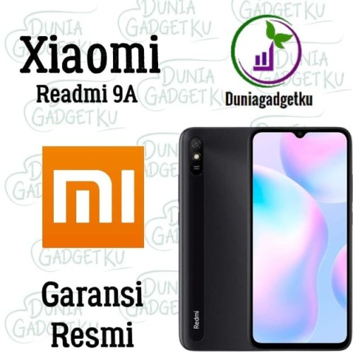 Foto Produk Xiaomi Redmi 9A 2/32 ~ 3/32 GB Garansi Resmi , IMEI Terdaftar - [2/32] Blue dari duniagadgetku