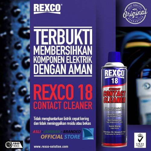Foto Produk Contact Cleaner REXCO 18 220 ml dari HIU Motor Tangerang