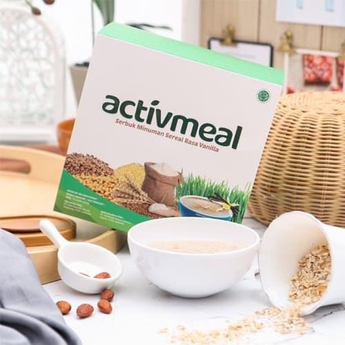 Foto Produk Activmeal Multigrains Multigrain Superfood MRP 15 sachet weight loss dari Suplemen Fitness Murah