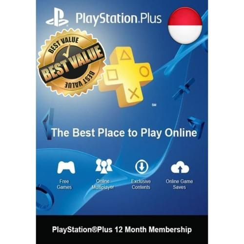 Foto Produk PlayStation Plus 12 Month (Asia / Indonesia) dari GAMELAND