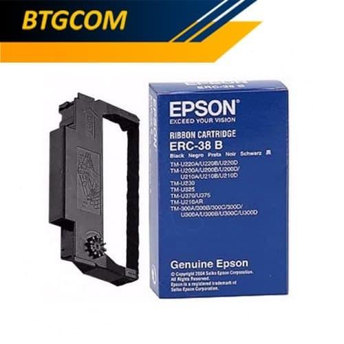 Foto Produk Epson ERC 38 B Tinta Catridge Catrid Ribbon Ribon ERC38 TMU Ori dari BTGCOM