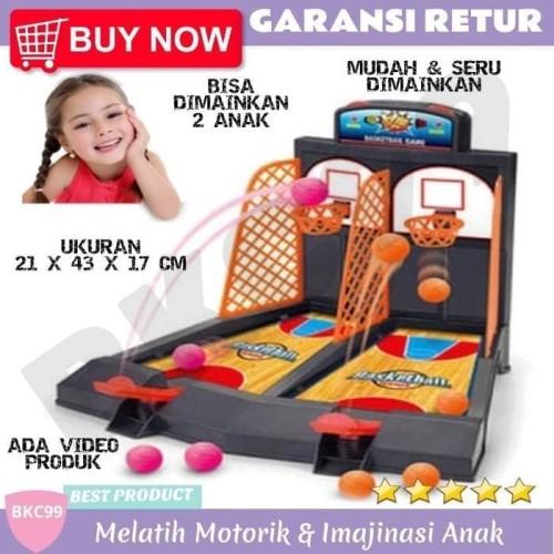Foto Produk A15 Mainan Anak Perempuan Cewek Cewe Laki Laki Cowok Cowo Bola Basket dari BKC99