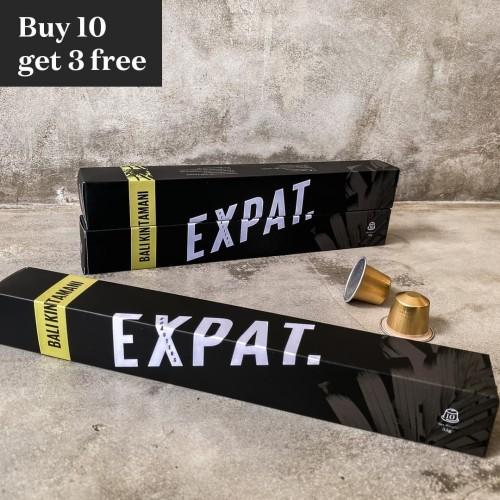 """Foto Produk Promo 10 + 3 Expat Roasters """"Bali"""" Nespresso Compatible Coffee Capsule dari Expat. Roasters"""
