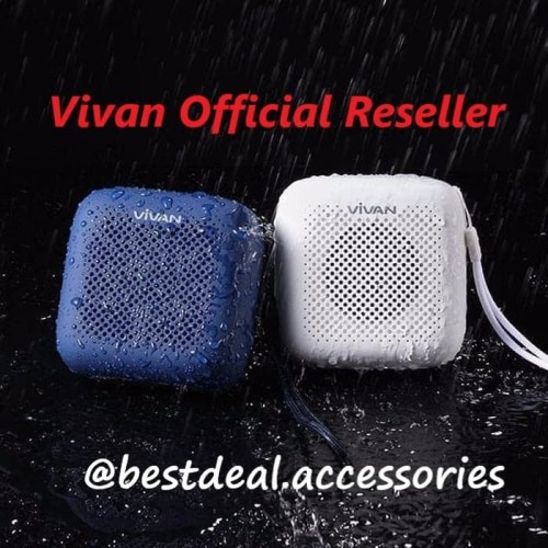 Foto Produk Vivan VS1 Speaker Bluetooth Waterproof Outdoor Speaker Aktif Mini - Putih dari Bestdeal Accessories