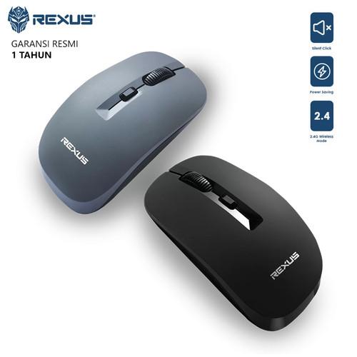 Foto Produk Rexus Q20 Office Mouse Wireless Silent - Abu-abu dari AKA Official