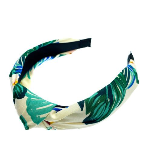 Foto Produk W! Accessories Bando Kain Bunga 61100300 - Putih dari W! Accessories