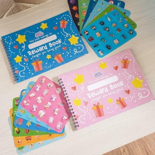 Foto Produk Reward Book (boy warna biru, girl warna pink) - Biru dari VRECIOUS