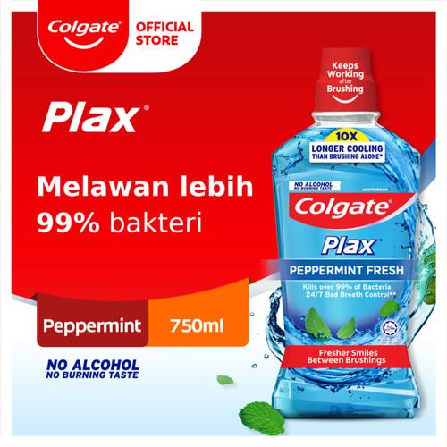 Foto Produk Colgate Plax Peppermint Mouthwash/Obat Kumur 750ml (113642) dari Colgate Palmolive
