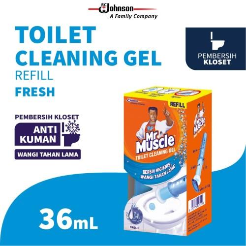 Foto Produk Mr. Muscle Toilet Cleaning Gel Fresh Refill 36mL dari SC Johnson & Son ID