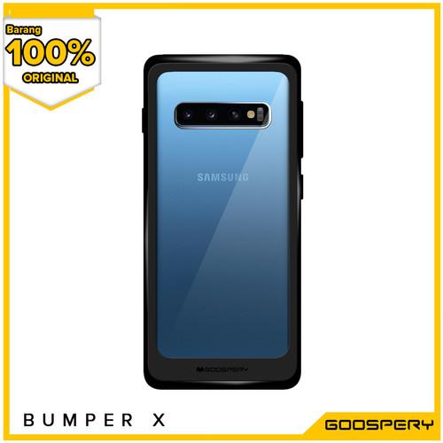 Foto Produk [FLASH SALE] Casing Goospery New Bumper X For iPhone Samsung - Black dari Goospery Indonesia
