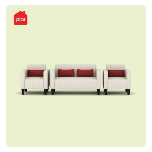 Foto Produk Bavarian - AURORA 211 Sofa 2+1+1 Seater Beige Brown SK - Red SK dari PIRA
