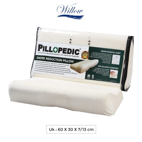 Foto Produk Bantal Memory Foam Anti Ngorok - Willow Pillopedic Snore Reduction dari Willow Pillow